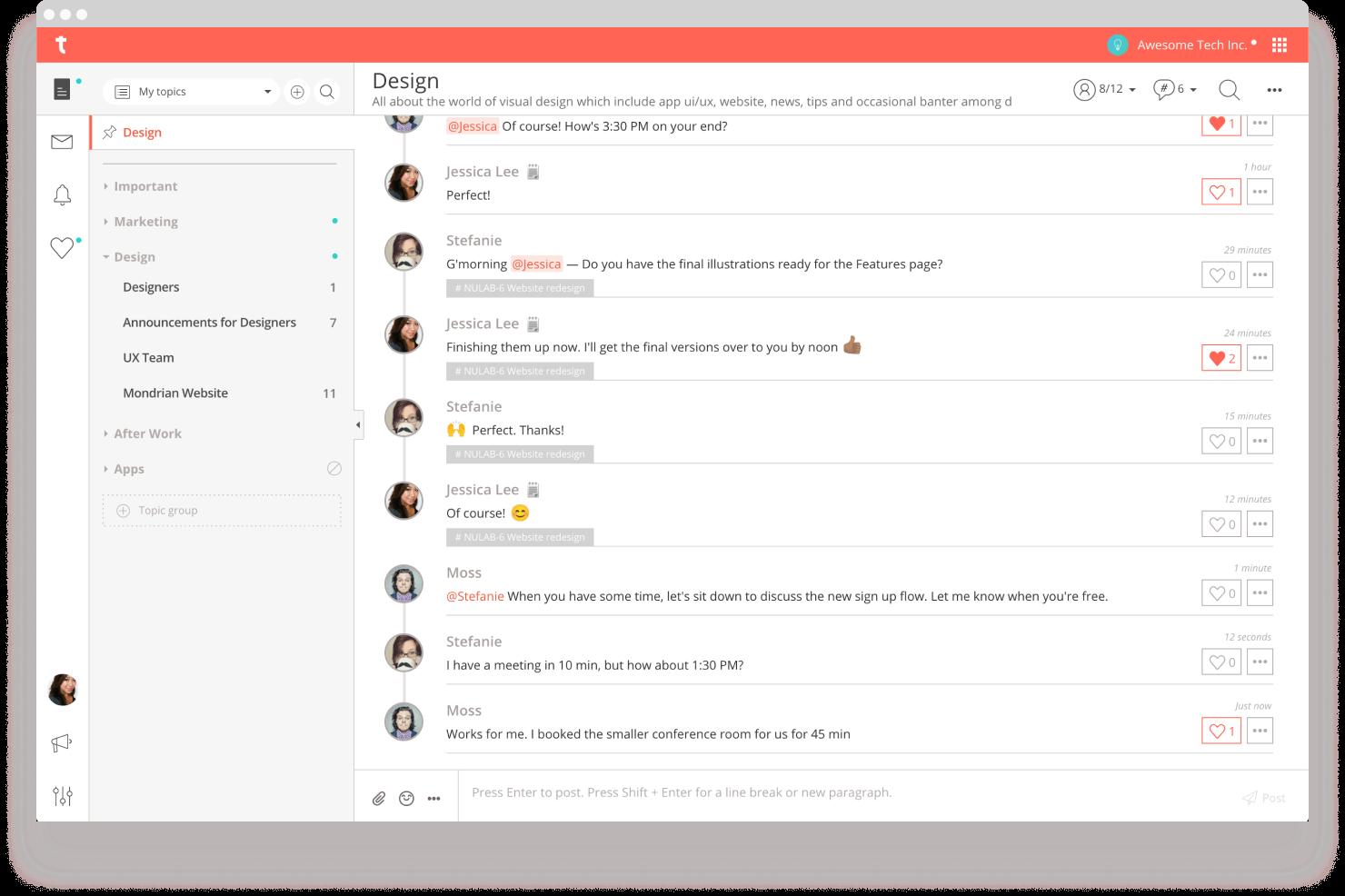 Download on Desktop or Mobile | Typetalk