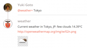 weather bot