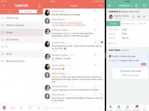 Backlog on iPad with Typetalk