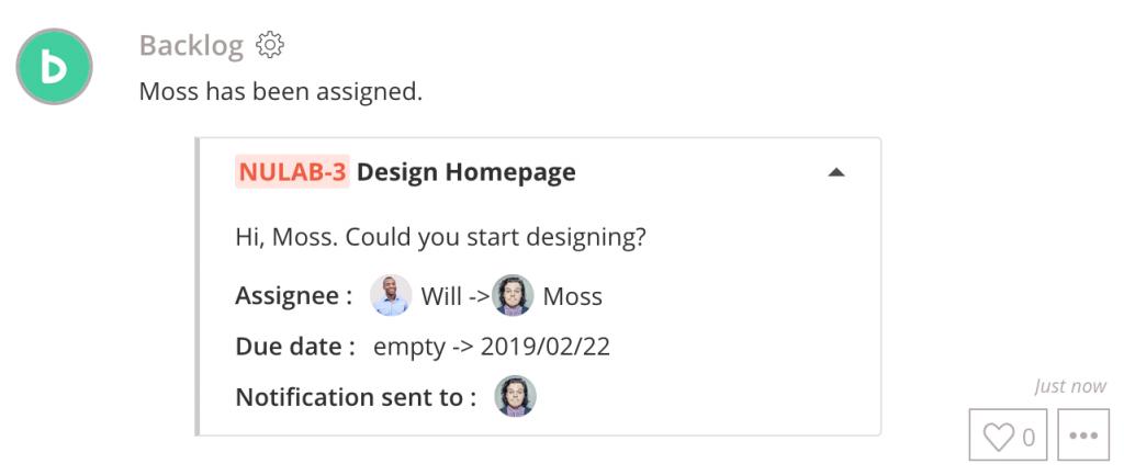 New Backlog integration
